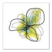 "ArtWall ""Citron Petals II"" Flat Unwrapped Canvas Art By Jan Weiss, 36"" x 36"""