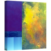 "ArtWall ""Earth Squares II"" Gallery Wrapped Canvas Art By Jan Weiss, 14"" x 14"""
