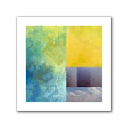 "ArtWall ""Earth Textures Squares I"" Flat Unwrapped Canvas Art By Jan Weiss, 24"" x 24"""