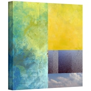 "ArtWall ""Earth Textures Squares I"" Gallery Wrapped Flat Canvas Art By Jan Weiss, 24"" x 24"""