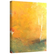 """ArtWall """"Three Trees"""" Gallery Flat Wrapped Canvas Art By Jan Weiss, 32"""" x 24"""""""