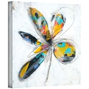 "ArtWall ""Lyrical Three"" Gallery Wrapped Canvas Arts By Jan Weiss"