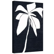 """ArtWall """"White Flower"""" Gallery Wrapped Canvas Art By Jan Weiss, 16"""" x 24"""""""