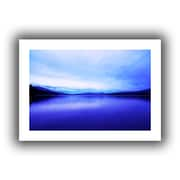 "ArtWall ""Oregon-Odell Lake"" Flat Unwrapped Canvas Arts By Dan Wilson"