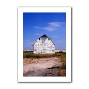 "ArtWall ""Old White Barn"" Unwrapped Canvas Art By Kathy Yates, 24"" x 16"""