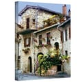 ArtWall in.Assisi Italyin. Gallery Wrapped Canvas Arts By George Zucconi