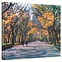 ArtWall Central Park Gallery Wrapped Canvas Art By