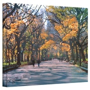 "ArtWall ""Central Park"" Gallery Wrapped Canvas Art By George Zucconi, 24"" x 32"""
