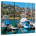 ArtWall in.Point Loma SDin. Gallery Wrapped Canvas Arts By George Zucconi