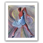 "ArtWall ""Blue Dress"" Unwrapped Canvas Arts By Ikahl Beckford"