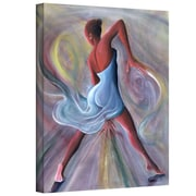 "ArtWall ""Blue Dress"" Gallery Wrapped Canvas Arts By Ikahl Beckford"