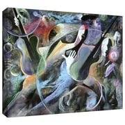"ArtWall ""Jammin"" Gallery Wrapped Canvas Arts By Ikahl Beckford"