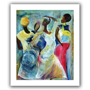 "ArtWall ""Sister Act 2002"" Unwrapped Canvas Arts By Ikahl Beckford"