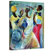 "ArtWall ""Sister Act 2002"" Gallery Wrapped Canvas Arts By Ikahl Beckford"