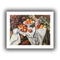 ArtWall in.Apples and Orangesin. Unwrapped Canvas Arts By Paul Cezanne