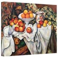 ArtWall in.Apples and Orangesin. Gallery Wrapped Canvas Arts By Paul Cezanne