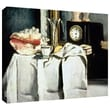 ArtWall in.The Black Marble Clockin. Gallery Wrapped Canvas Art By Paul Cezanne, 36in. x 48in.