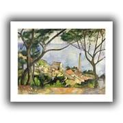 "ArtWall ""The Sea at l'Estaque"" Unwrapped Canvas Art By Paul Cezanne, 24"" x 32"""