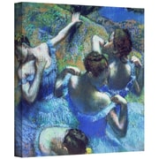 "ArtWall ""Blue Dancers"" Gallery Wrapped Canvas Art By Edgar Degas, 24"" x 24"""
