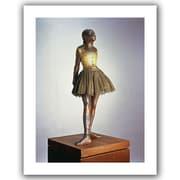 """ArtWall """"The Little Dancer"""" Flat Unwrapped Canvas Art By Edgar Degas, 32"""" x 24"""""""