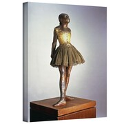 "ArtWall ""The Little Dancer"" Gallery Wrapped Canvas Art By Edgar Degas, 48"" x 36"""