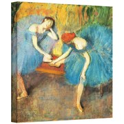 "ArtWall ""Two Dancers at Rest or..."" Gallery Wrapped Canvas Arts By Edgar Degas"
