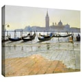 ArtWall in.Venice at Dawnin. Gallery Wrapped Canvas Arts By Timothy Easton