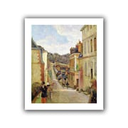 ArtWall A Suburban Street Unwrapped Canvas Art By Paul Gauguin, 24 x 20