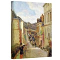 ArtWall in.A Suburban Streetin. Gallery Wrapped Canvas Arts By Paul Gauguin