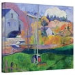 ArtWall in.Brittany Landscape The David Millin. Gallery Wrapped Canvas Art By Paul Gauguin, 36in. x 48in.