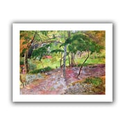 ArtWall Tropical Landscape, Martinique Unwrapped Canvas Art By Paul Gauguin, 14 x 18