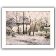 "ArtWall ""Winter Landscape"" Unwrapped Canvas Art By Paul Gauguin, 18"" x 24"""