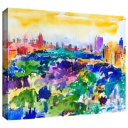 "ArtWall ""Central Park New York 2011"" Gallery Wrapped Canvas Arts By Peter Graham"