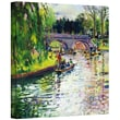 ArtWall in.Glad Green Summerin. Gallery Wrapped Canvas Art By Peter Graham, 14in. x 14in.