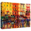 ArtWall in.Grand Harbour, Cannesin. Gallery Wrapped Canvas Art By Peter Graham, 36in. x 44in.