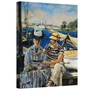 "ArtWall ""A Bar At The Folies-Bergere"" Gallery Wrapped Canvas Art By Edouard Manet, 14"" x 18"""