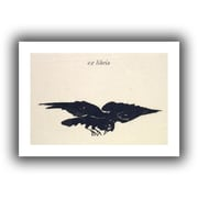 ArtWall Le Corbeau Unwrapped Canvas Art By Edouard Manet, 16 x 24