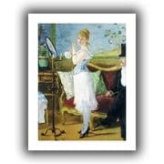 ArtWall Nana Unwrapped Canvas Art By Edouard Manet, 48 x 36