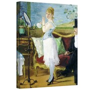 "ArtWall ""Nana"" Gallery Wrapped Canvas Art By Edouard Manet, 24"" x 18"""