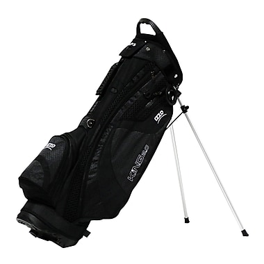 IZZO Golf® KING 5 lbs. Ultra-Light Stand Bag, Black