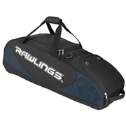 Rawlings® Player Preferred Wheeled Baseball/Softball Bat Bag, Navy