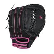 Wilson® Flash A440 Left Hand Thrower Fastpitch Gaming Glove, 11 1/2