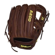 Wilson® A800 Game Ready SoftFit™ Right Hand Thrower Baseball Glove, 11 1/2