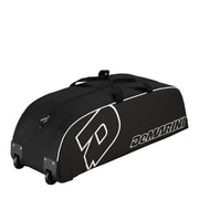 Wilson® DeMarini Youth Wheeled Bag, Black