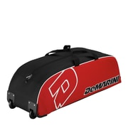 Wilson® DeMarini Youth Wheeled Bag, Scarlet