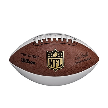 Wilson® NFL® Autograph Composite Football, Brown