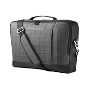 HP® 15.6 Slim Ultrabook Top Load Carrying Case, Black/Gray