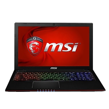 msi GE Apache 15.6in. Laptop, Intel i7-4700HQ 3.2GHz, Brush Aluminum Black