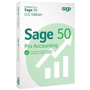 Sage 50 Pro Accounting Software 2015