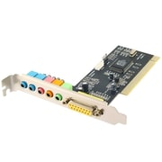 Sabrent™ 6 Channel 5.1 PCI Internal Sound Card
